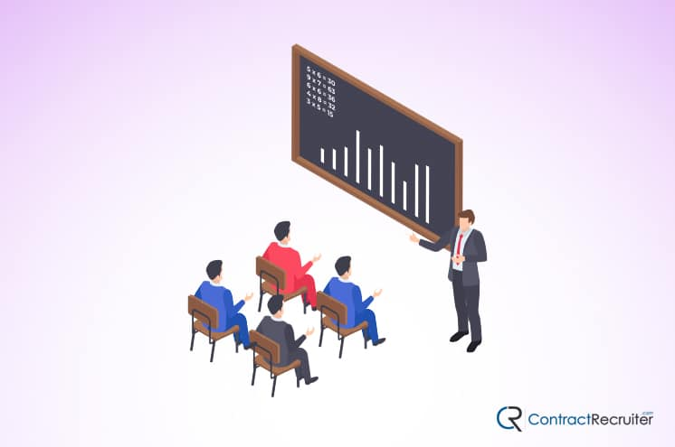Business Training Illustration