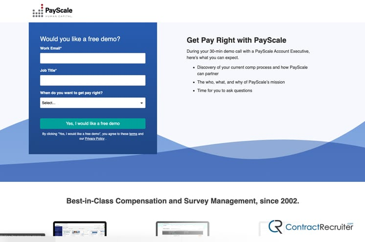 Payscale Site
