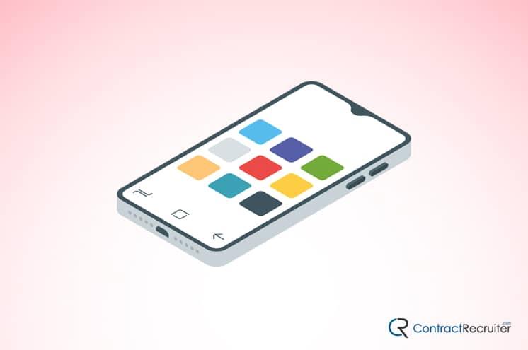 iPhone Apps Illustration