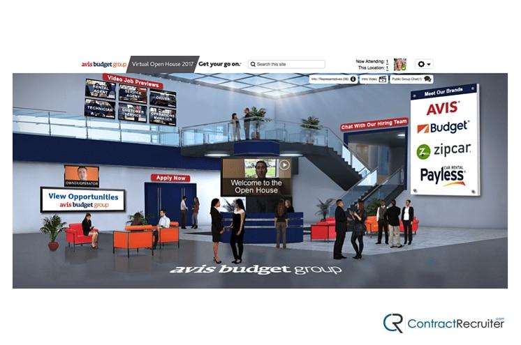 Virtual Job Fair 3D