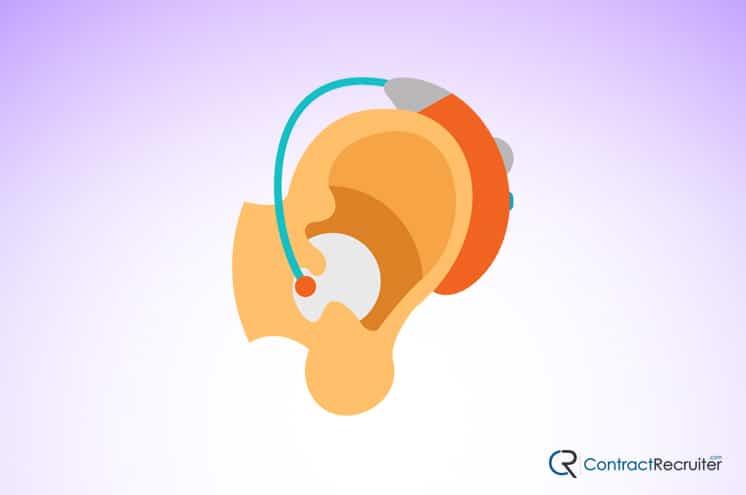 Hearing Aid Illustration
