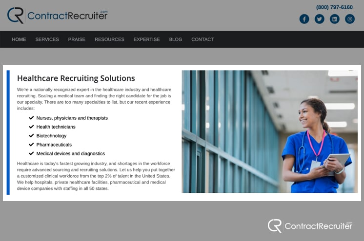 Healthcare Recruiting Specialist