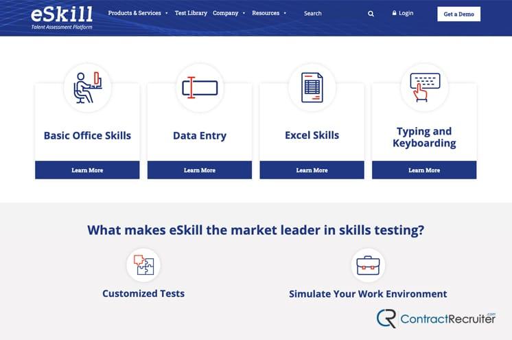 Online Skill Testing