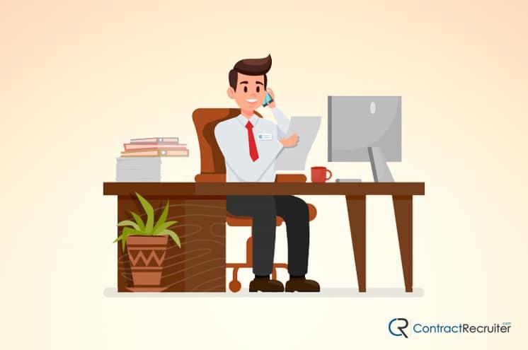 Sales VP Illustration