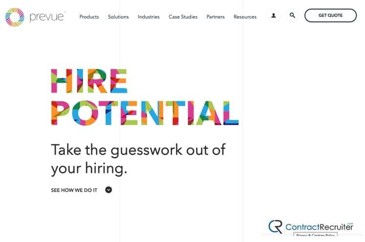 Pervue Homepage