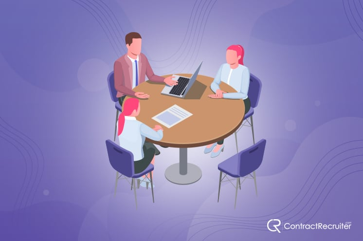 Group Interview Illustration
