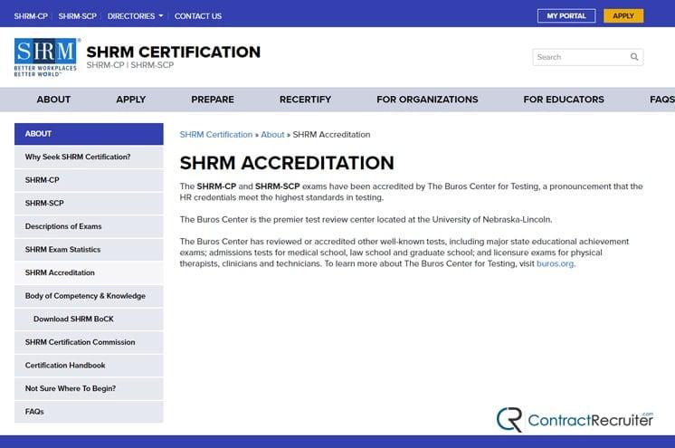 SHRM Accreditation
