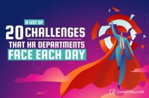 HR Department Challenges