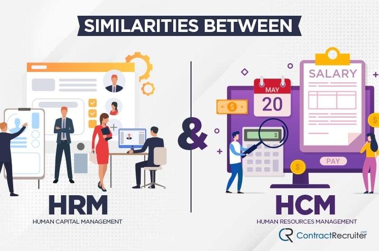 Similarities Between HCM HRM