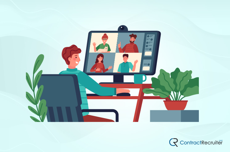 Happy Remote Employees