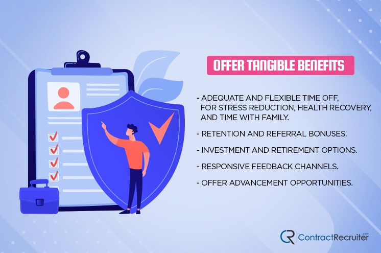 Offer Tangible Benefits